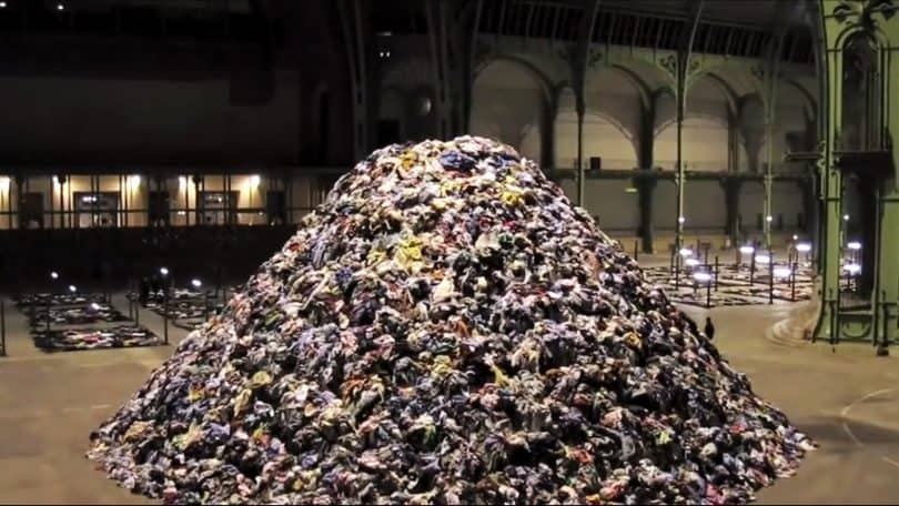 Photo: Une partie de l'installation de Christian Boltanski - tirée de Youtube