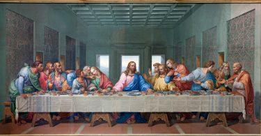 Mosaïque de la Dernière Cène, reproduction de l'oeuvre de Leonardo da Vinci (Fotolia)