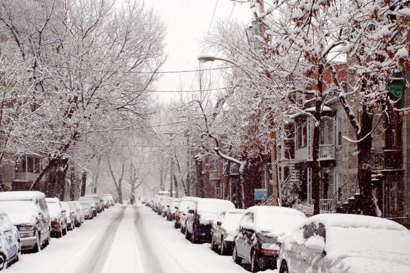 L'hiver à Montréal (Fotolia)