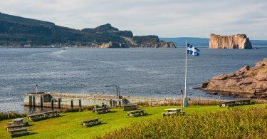 Photo: Île Bonaventure et Rocher Percé (Fotolia)