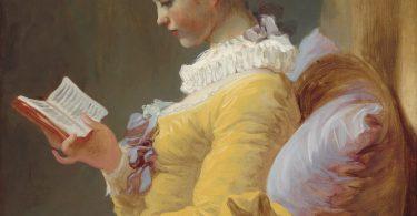 La liseuse, par Jean-Honoré Fragonard — National Gallery of Art(CC)