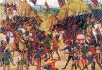 Bataille de Crécy, par Jean Froissart (wikimedia - CC)
