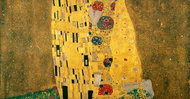 Le baiser, Gustav Klimt