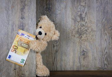 money bear