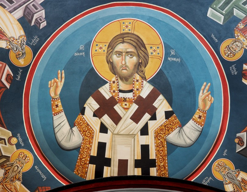 Fresque de l'église Theotokos Bitola, Macédoine, Petar-Milošević (Wikimedia-CC).