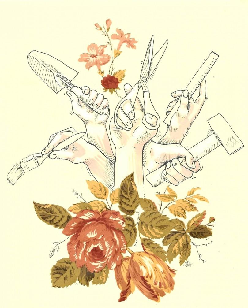 Illustration: Caroline Dostie.