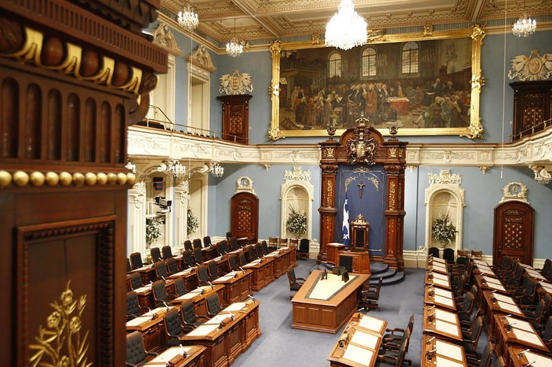 Photo: Assemblée nationale du Québec (Wikimedia - CC).