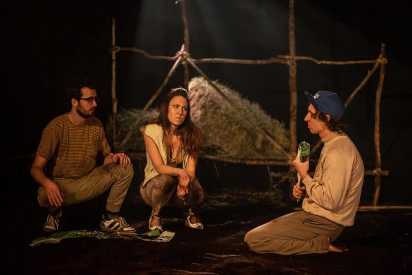 Une scène de Beef au Théâtre Premier Acte (photo: Facebook).