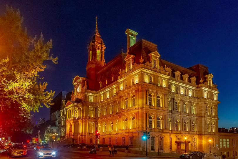 Hôtel de ville de Montréal (photo: Facebook).