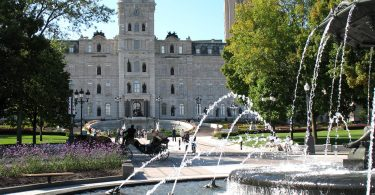 Parlement du Québec, Québec. Photo: Gilbert Bochenek (Wikimedia Commons).