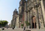 Façade de la cathédrale de México (photo: Jérôme Blanchet-Gravel).